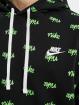 Nike Sweat capuche Sportswear Club BB Scrpt noir