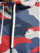 Nike Sweat capuche zippé Club FZ FT Camo gris