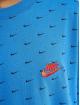 Nike T-shirt Mini Swoosh blå