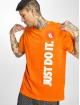 Nike T-Shirty HBR JDI 2 pomaranczowy 0
