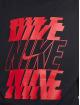 Nike T-skjorter Stack svart