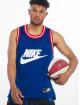 Nike Tank Tops Statement Mesh modrá