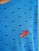 Nike Tričká Mini Swoosh modrá