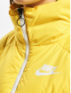Nike Vinterjackor Down Fill gul