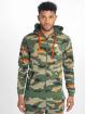 Nike Zip Hoodie M Nsw Club Camo Hoodie Fz Ft green 2