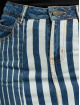 Noisy May Rock nmNicole Normal Waist Denim Stripe blau