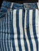 Noisy May Spódniczki nmNicole Normal Waist Denim Stripe niebieski