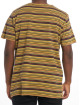 Nudie Jeans T-Shirt Anders Overdyed Stripes braun 3