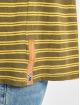 Nudie Jeans Tričká Anders Double Stripe zelená
