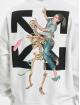 Off-White Bluzy z kapturem Pascal Skeleton Over bialy
