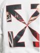 Off-White Bluzy z kapturem Caravaggio Over bialy