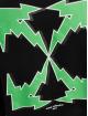 Off-White Bluzy z kapturem Bolt Arrow Slim czarny