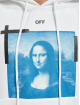 Off-White Hoodie Monalisa Over white