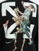 Off-White Longsleeve Pascal Skeleton Slim zwart
