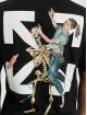 Off-White T-shirt Pascal Skeleton nero
