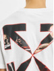 Off-White T-Shirt Caravaggio Slim weiß