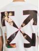 Off-White T-Shirt Sprayed Caravagg S/S Slim white
