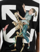 Off-White T-Shirty Pascal Skeleton czarny