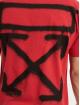 Off-White Trika Spray Marker červený