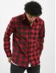 Only & Sons Camisa onsOzean Mixed Checked Regular rojo