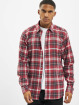 Only & Sons Chemise onsBobby Washed Yd Check rouge