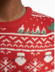 Only & Sons Pullover onsXmas 7 Jaquard red 3