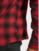 Only & Sons Shirt onsOzean Mixed Checked Regular red