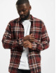 Only & Sons Skjorter Onssimon Checked Flannel red