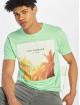 Only & Sons T-Shirty onsLamani Camp Fitted zielony