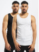 Only & Sons Tanktop onsNate 2-Pack zwart