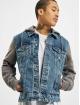 Only & Sons Veste Jean onsCoin Life Hooded Trucker bleu