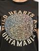Only Camiseta Life Flower Box JRS negro