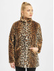 Only Coats onlVida Leo Faux Fur brown