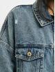 Only Denim Jacket onlSafe Life Oversized blue