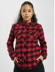 Only Koszule onlRock It Life Check czerwony