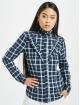 Only Shirt onlJaden Frill Check blue 2