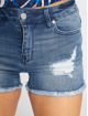 Only Shorts onlPearl Raw Mid blau 1