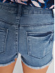 Only Shorts onlPearl Raw Mid blau 2