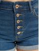 Only Shorts onlHush Highwaist Button blau
