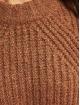 Only Sweat & Pull onlFiona Knit Noos brun