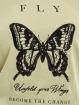 Only t-shirt Onlkita Life Butterfly Box JRS olijfgroen