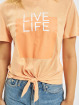 Only Top onlSilly Life Knot orange