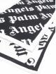 Palm Angels Schal Monogram schwarz