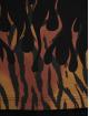 Palm Angels T-Shirt Tiger Flames noir
