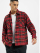 PEGADOR Chemise Flato Heavy Flannel rouge