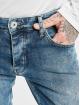 PEGADOR Dżinsy straight fit Distressed Ankle niebieski
