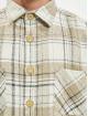 PEGADOR Hemd Flato Heavy Wool Flannel beige