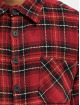 PEGADOR Hemd Flato Heavy Flannel rot