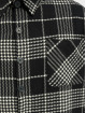 PEGADOR Košele Sydney Round Heavy Flannel èierna