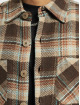 PEGADOR Košele Delta Heavy Flannel hnedá